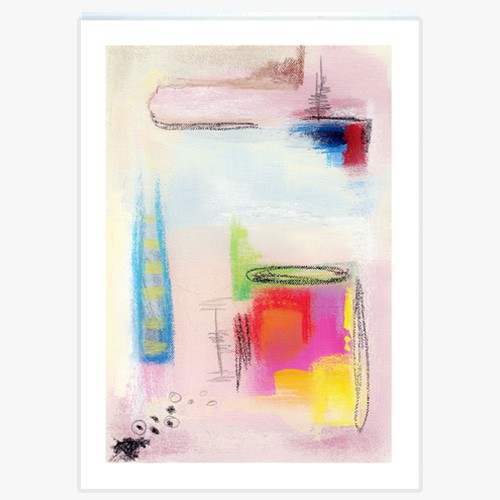 Abstract  Wall Art Painting (추상 벽 회화-12)